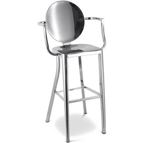 tabouret tolix assise en boisxavier pauchard. Black Bedroom Furniture Sets. Home Design Ideas