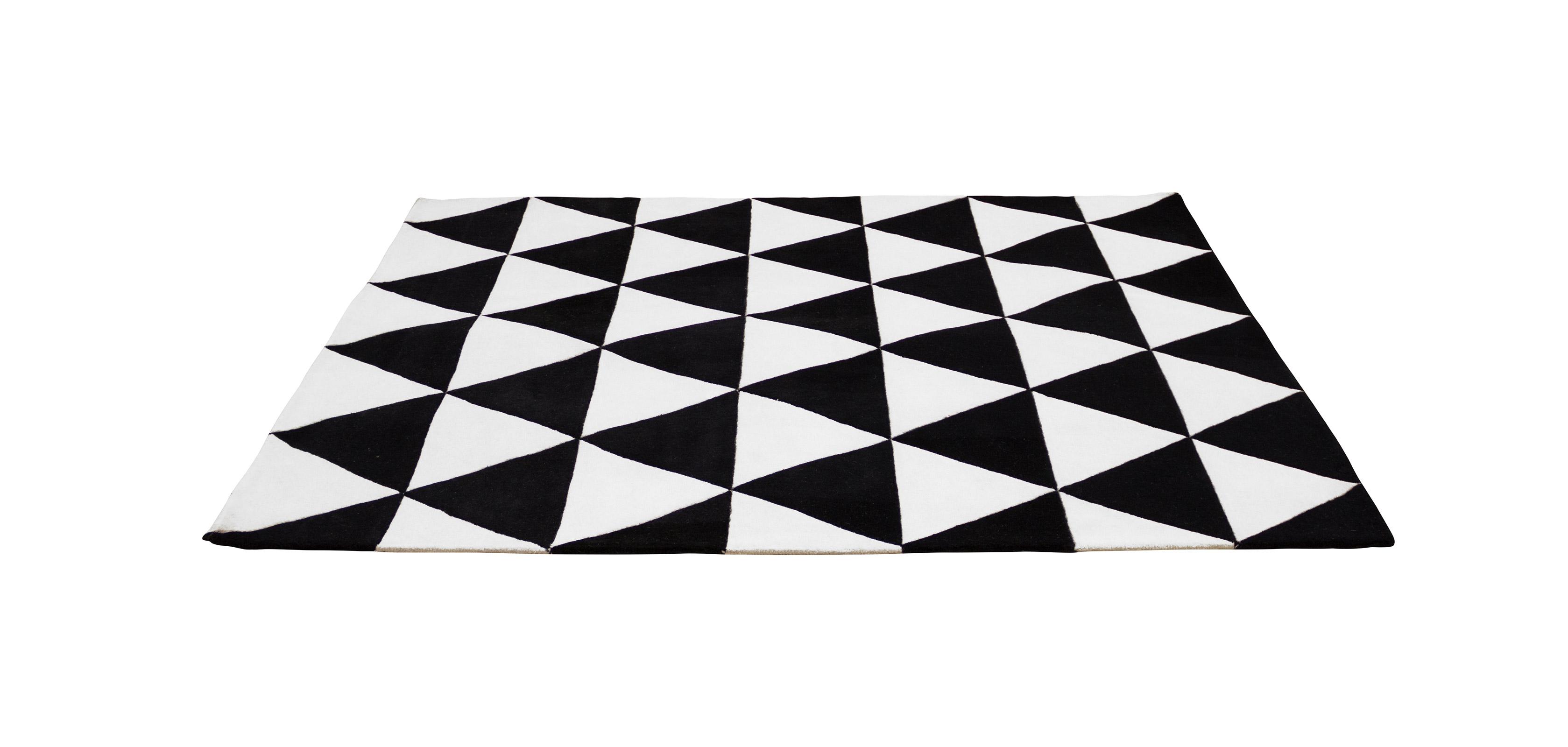 triangles tapis design scandinave. Black Bedroom Furniture Sets. Home Design Ideas