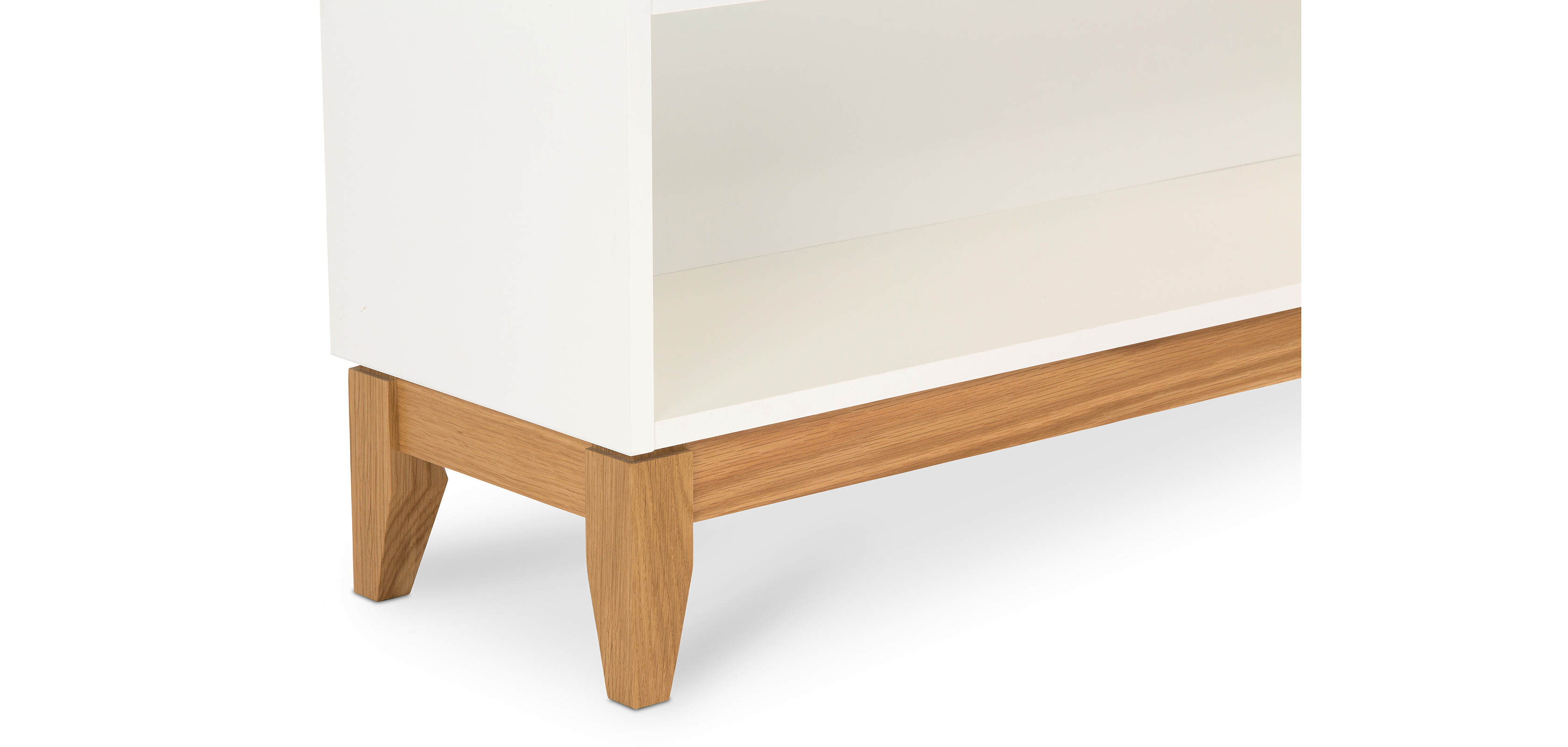 biblioth que console de style scandinave. Black Bedroom Furniture Sets. Home Design Ideas