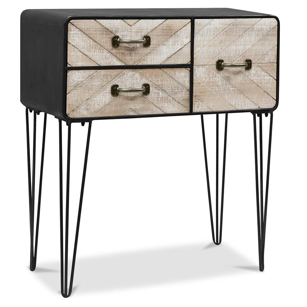 buffet industriel vintage. Black Bedroom Furniture Sets. Home Design Ideas