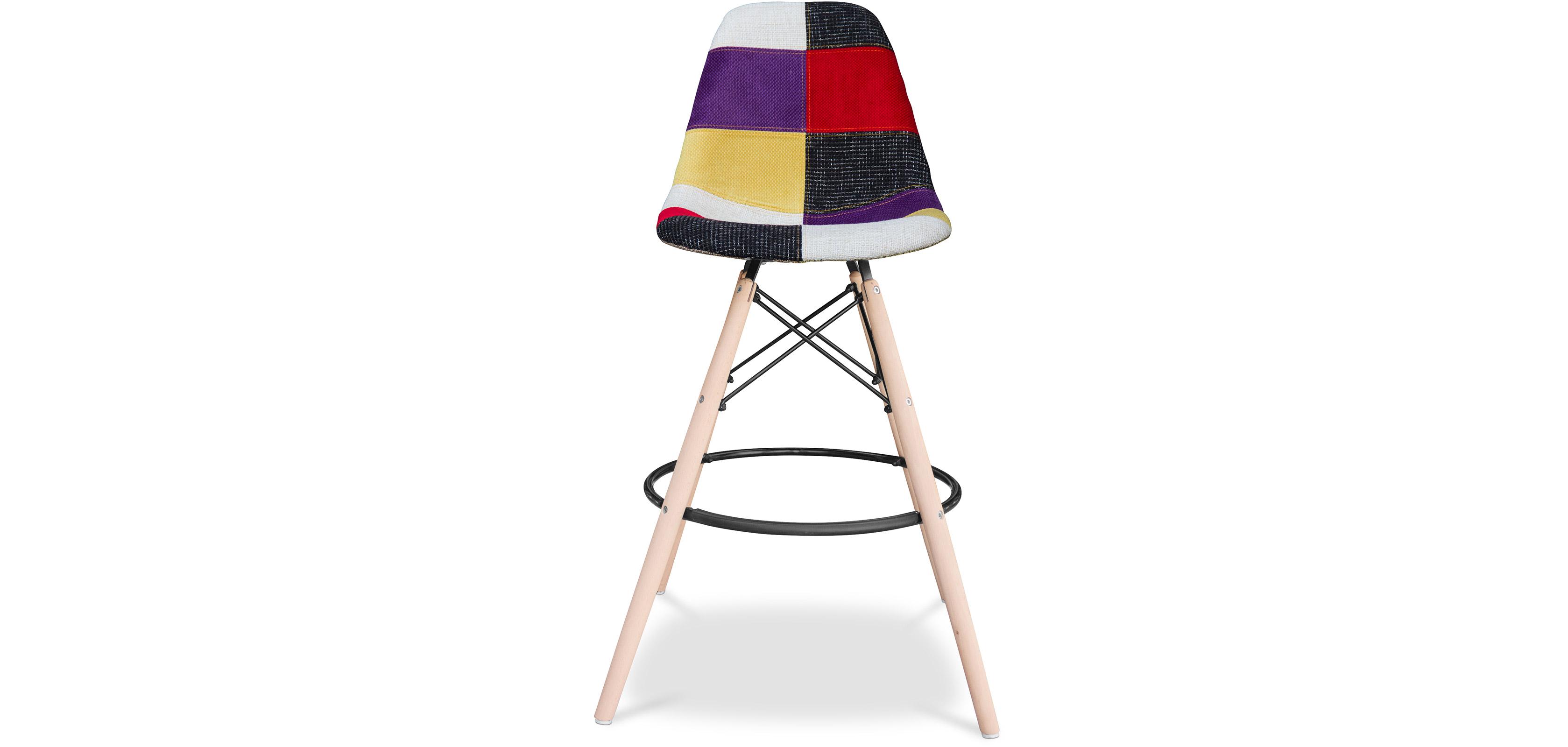 tabouret de bar geneva patchwork. Black Bedroom Furniture Sets. Home Design Ideas