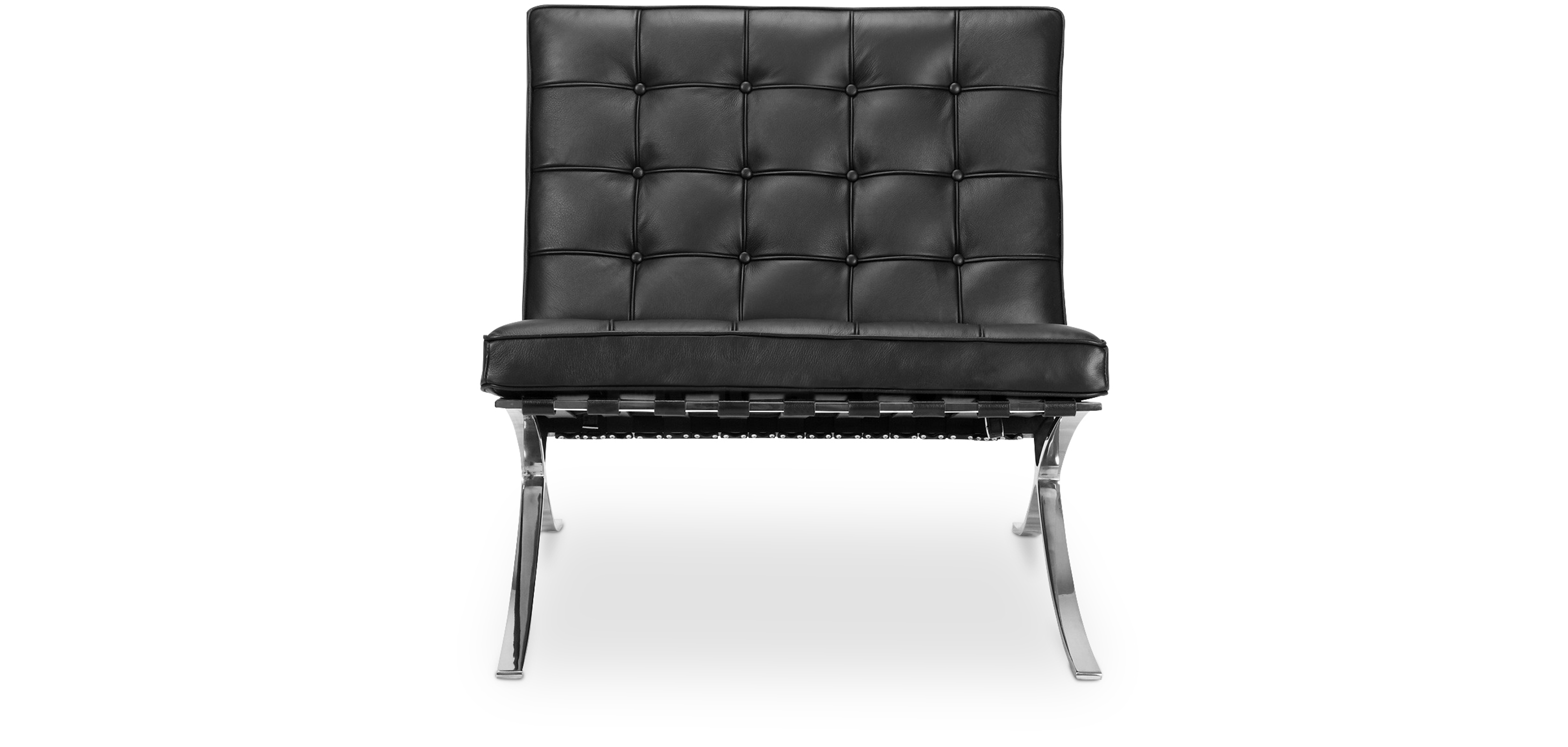 fauteuil barcelona ottoman ludwig mies van der rohe. Black Bedroom Furniture Sets. Home Design Ideas