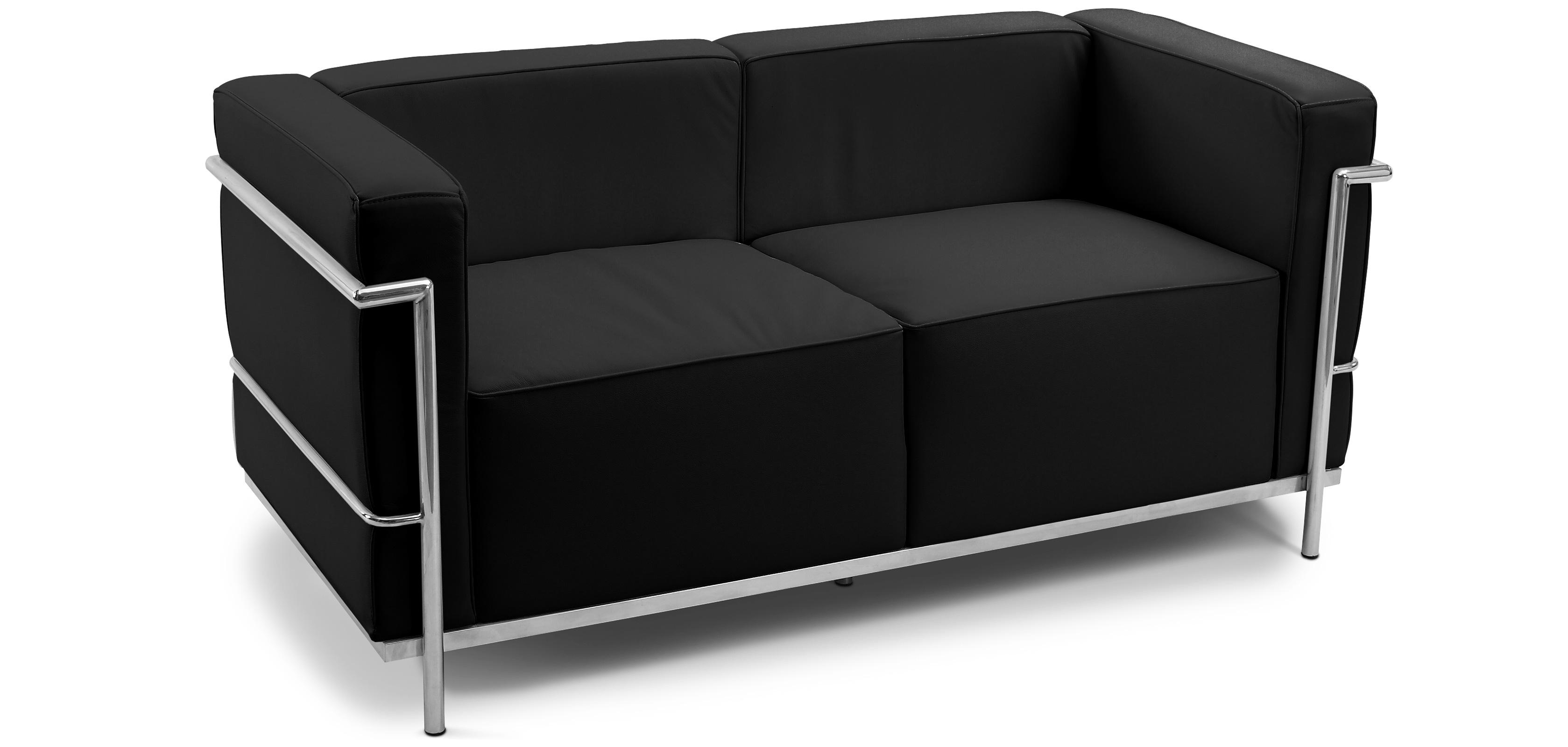 canap design kart3 2 places simili cuir. Black Bedroom Furniture Sets. Home Design Ideas