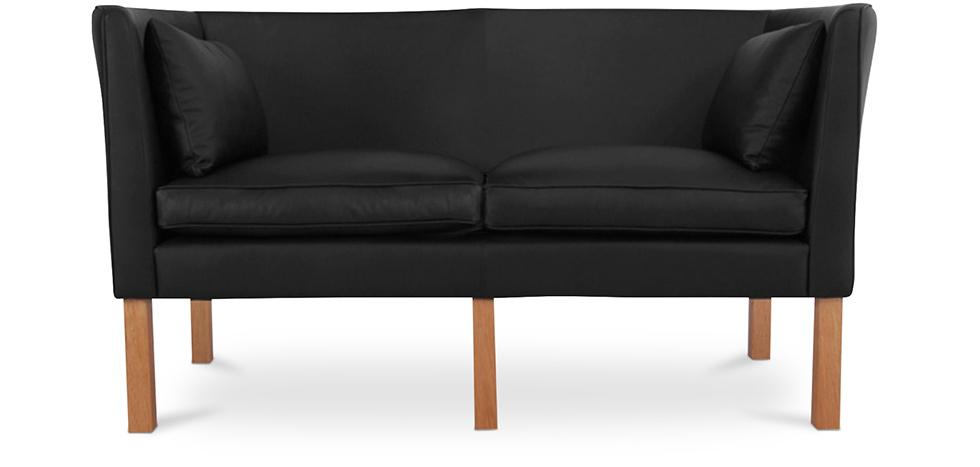 canap 2214 2 places borge mogensen simili cuir. Black Bedroom Furniture Sets. Home Design Ideas