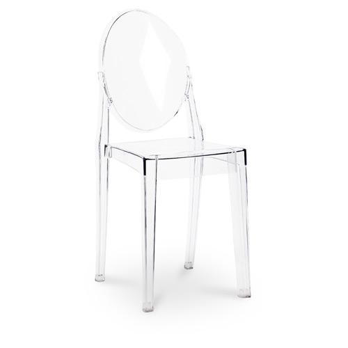 tabouret de bar victoria ghost philippe starck. Black Bedroom Furniture Sets. Home Design Ideas