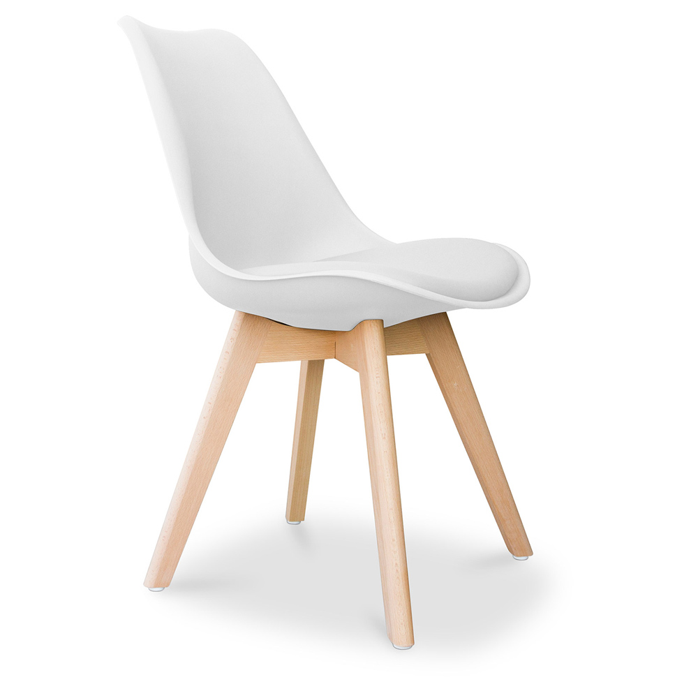 Chaise DSW Avec Coussin Design Scandinave Charles Eames