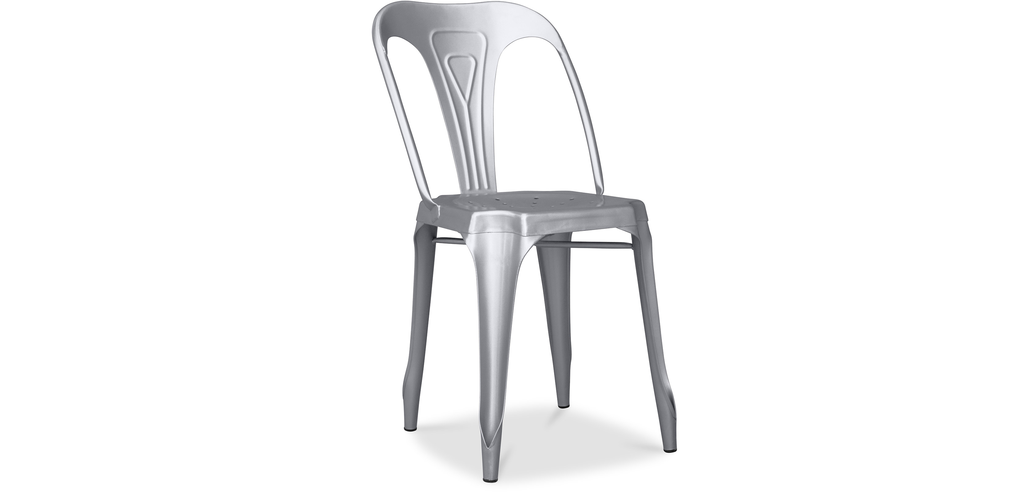 chaise industrielle vintage multipl 39 s m tal. Black Bedroom Furniture Sets. Home Design Ideas