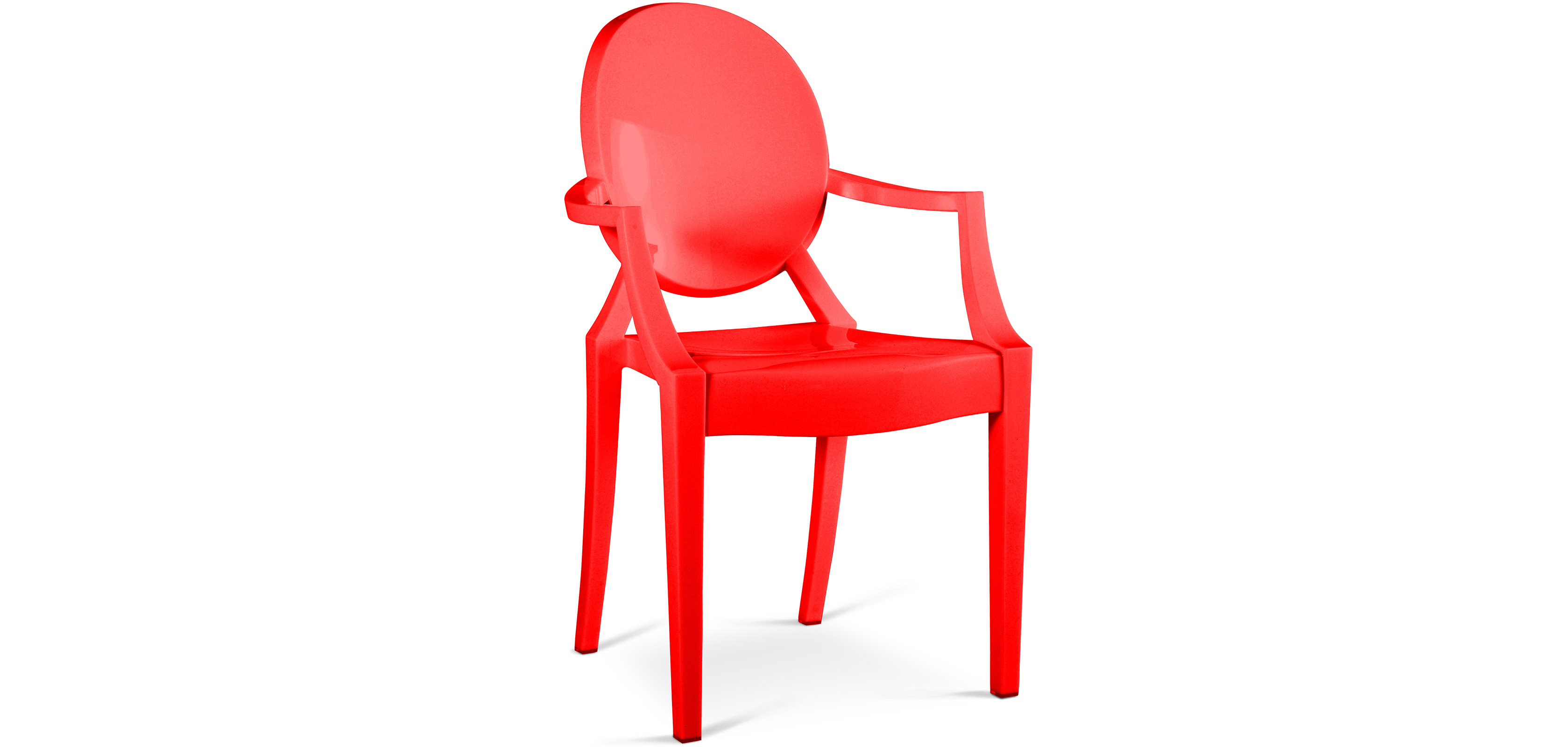 fauteuil louis ghost philippe starck
