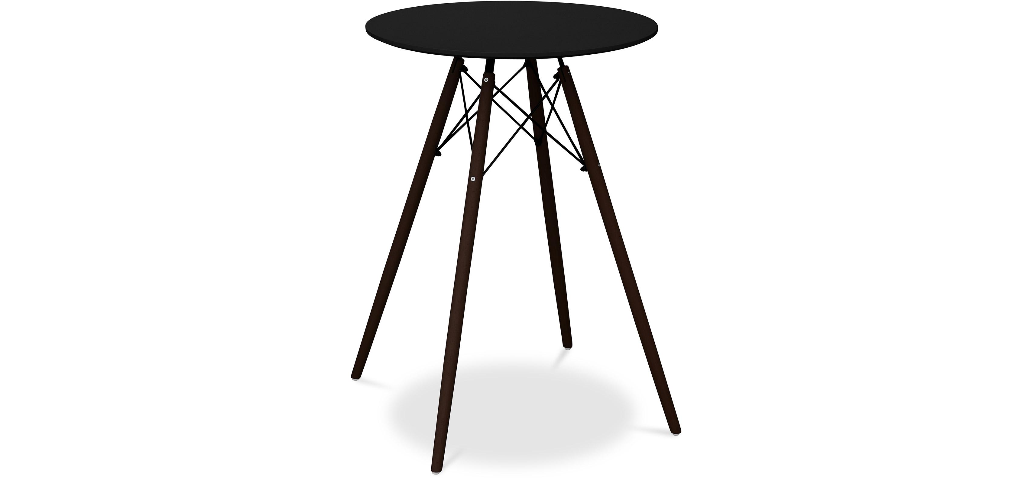 table dsw charles eames pour tabouret de bar pi tement fonc. Black Bedroom Furniture Sets. Home Design Ideas