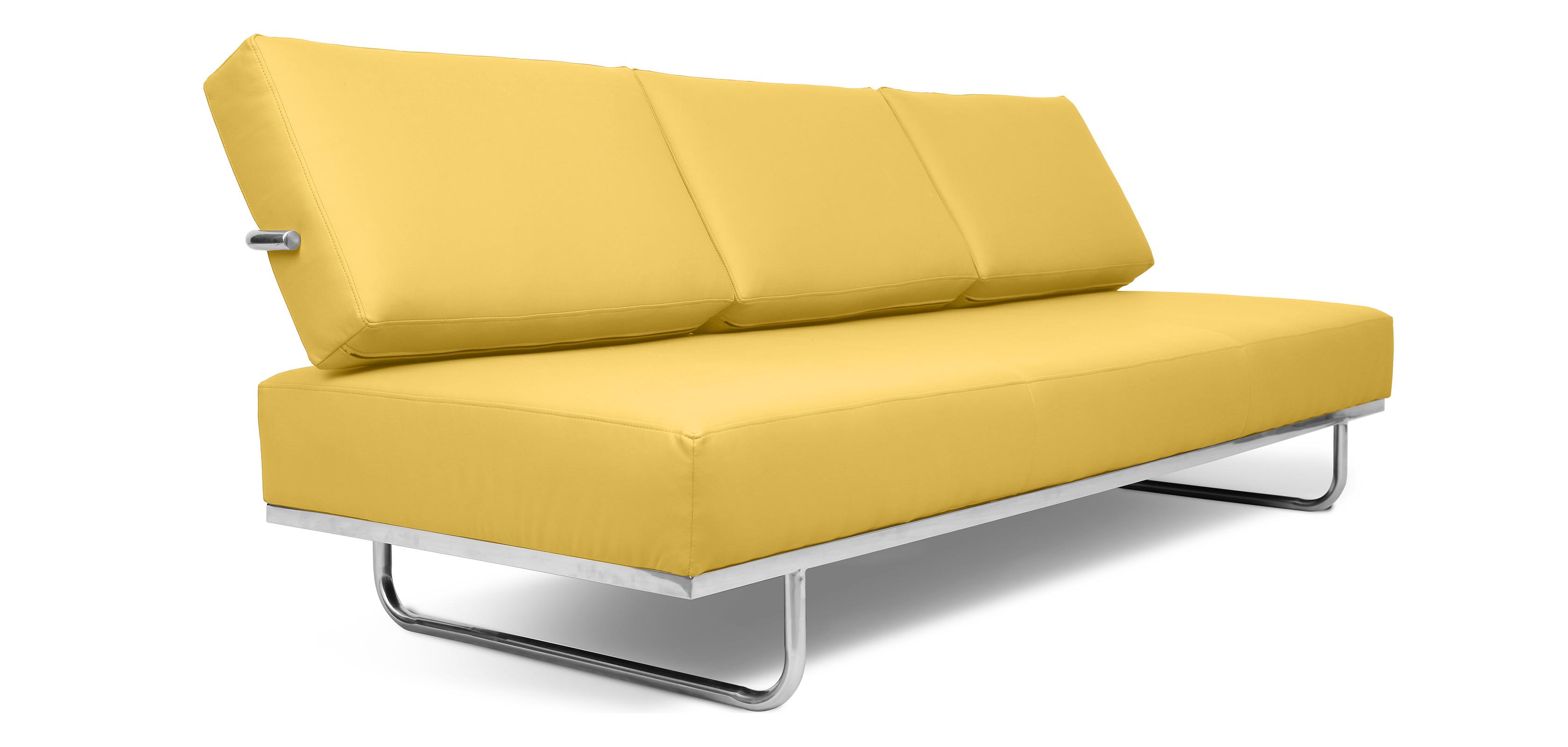 canap lit style kart5 simili cuir. Black Bedroom Furniture Sets. Home Design Ideas