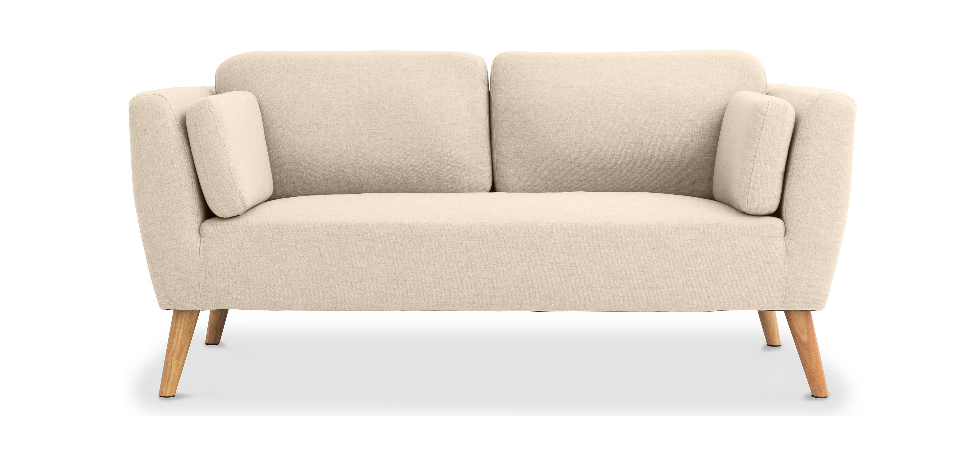 canap 2 places scandinave. Black Bedroom Furniture Sets. Home Design Ideas