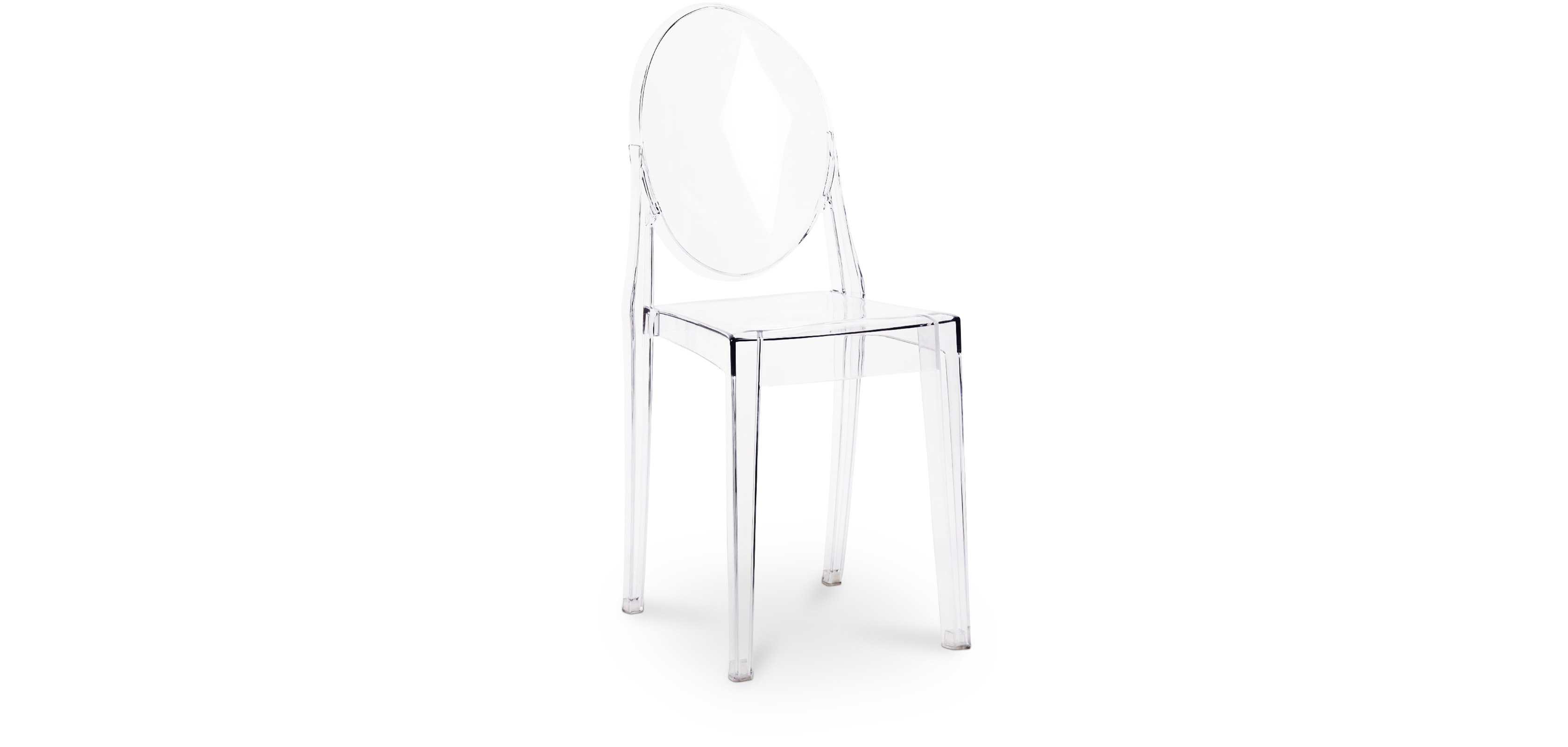 Chaise Victoria Style Ghost Philippe Starck