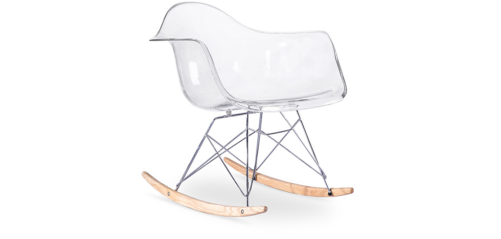 Chaise Rar Charles Eames Transparent