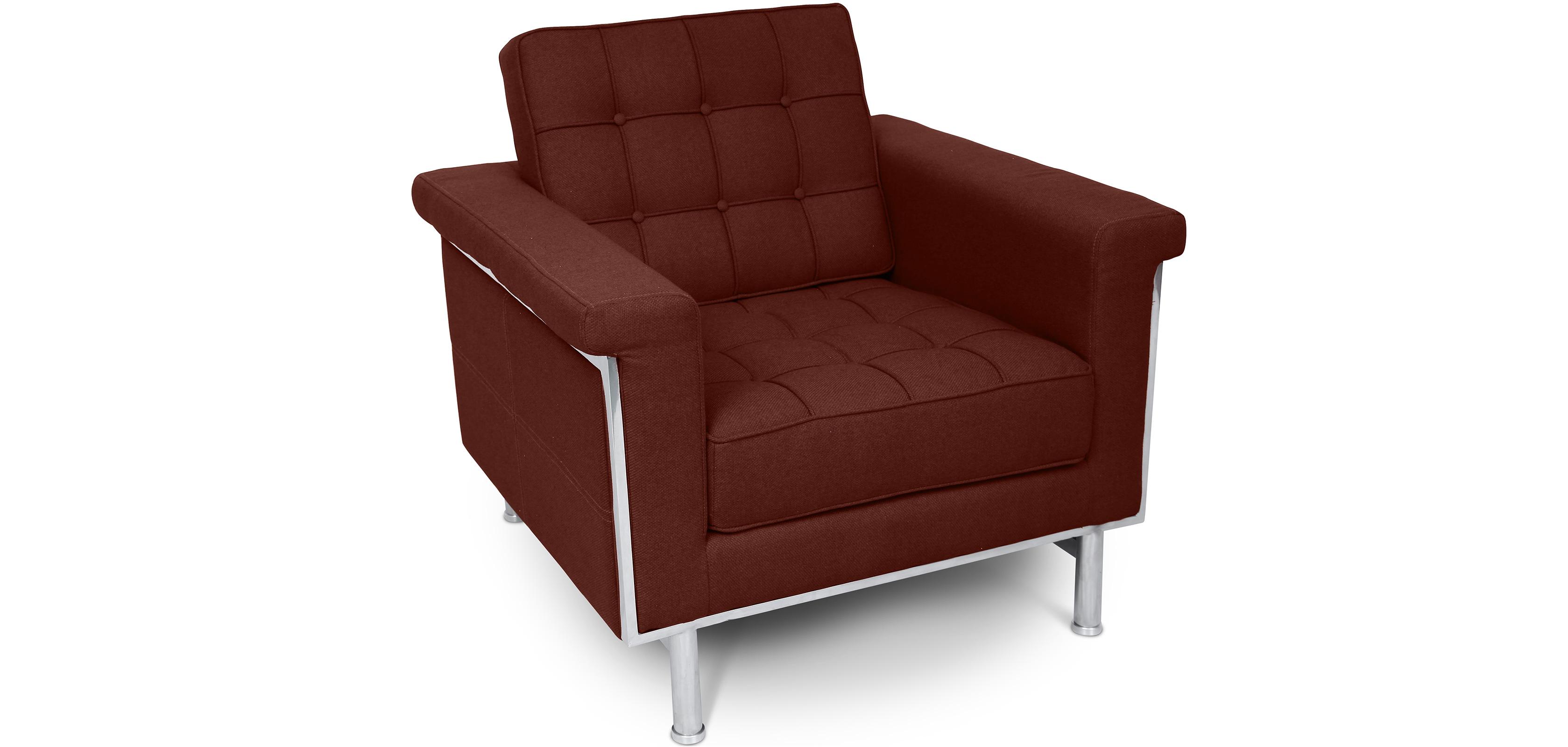 fauteuil inspiration ludwig mies van der rohe tissu. Black Bedroom Furniture Sets. Home Design Ideas