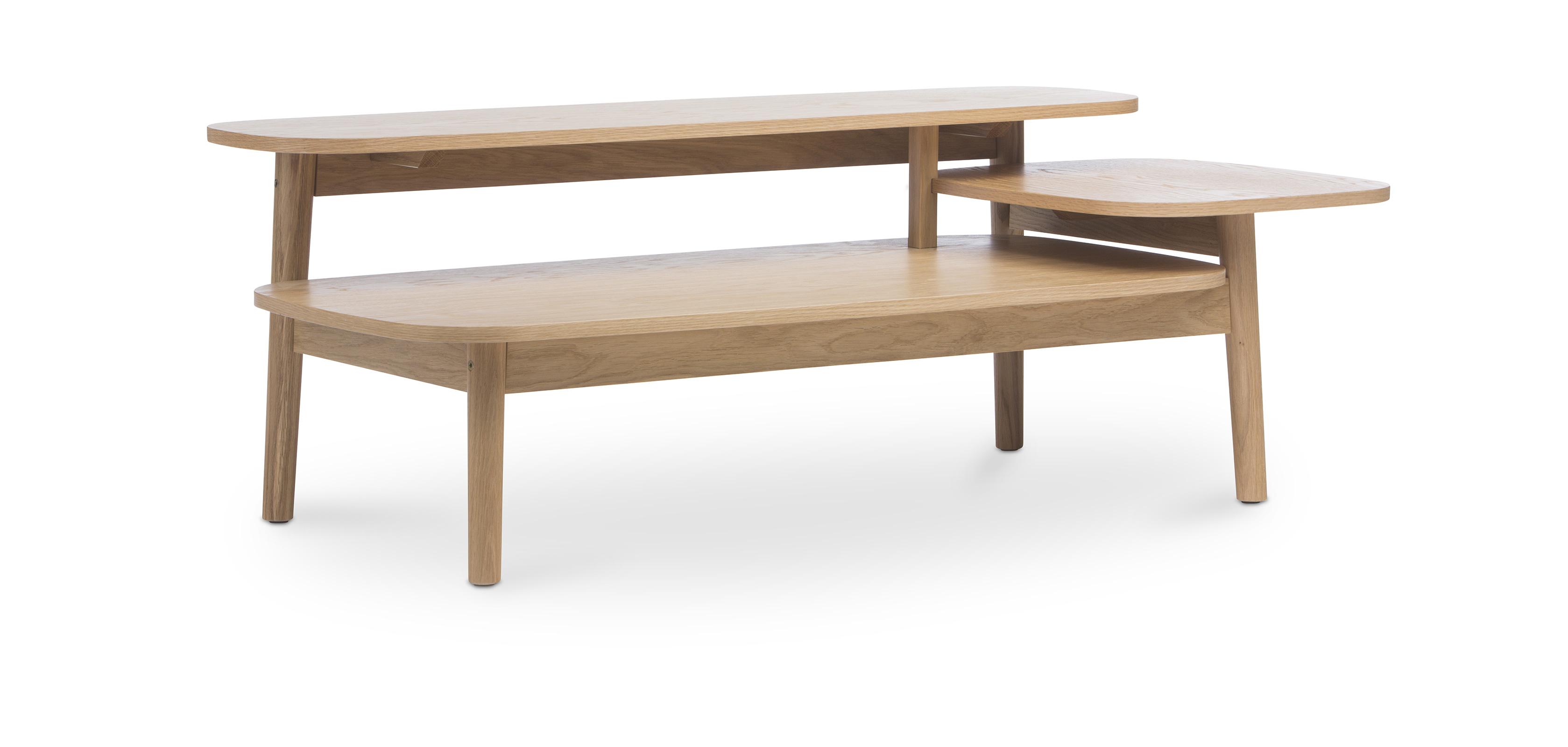 table basse à trois niveaux style scandinave