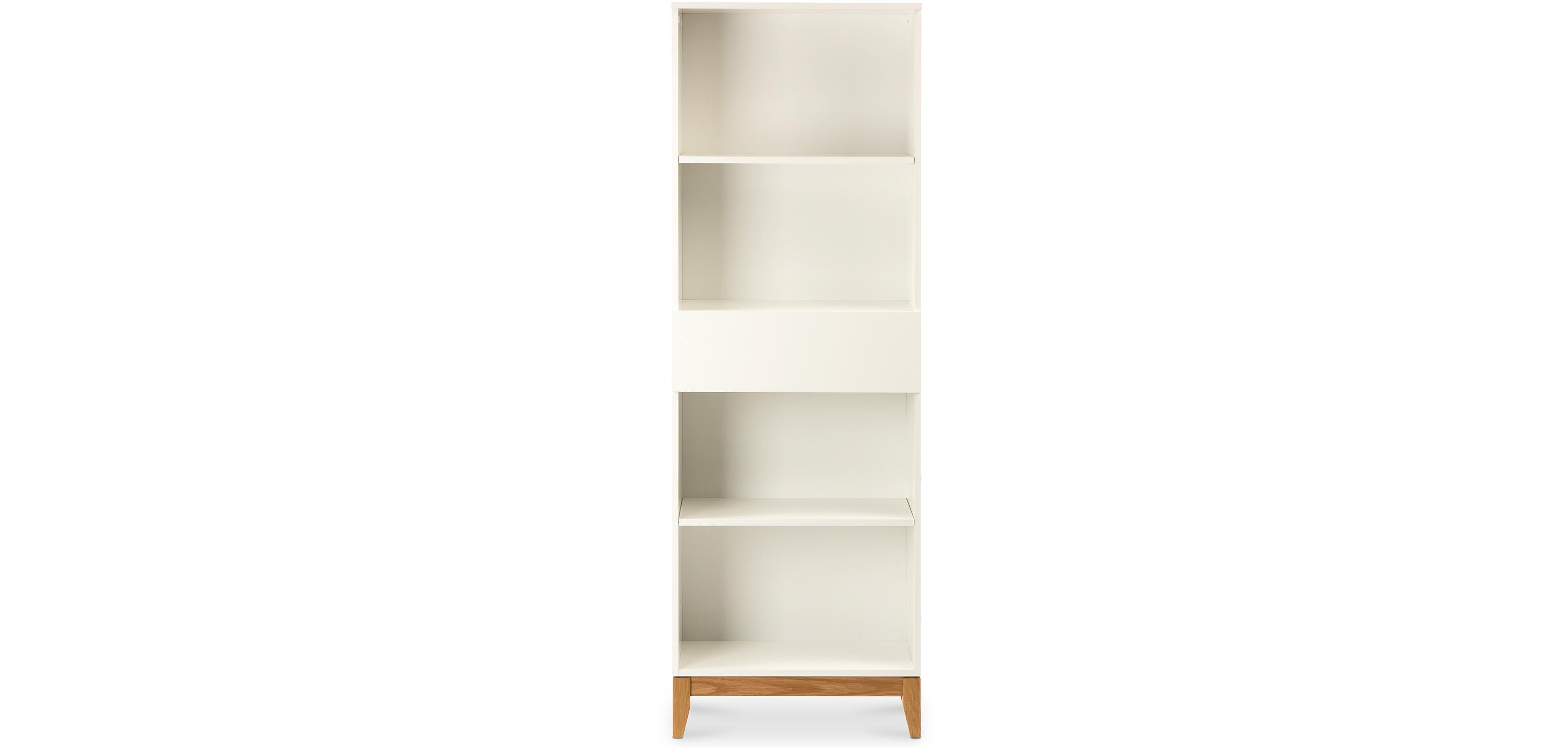 bibliothèque de style scandinave - miurem