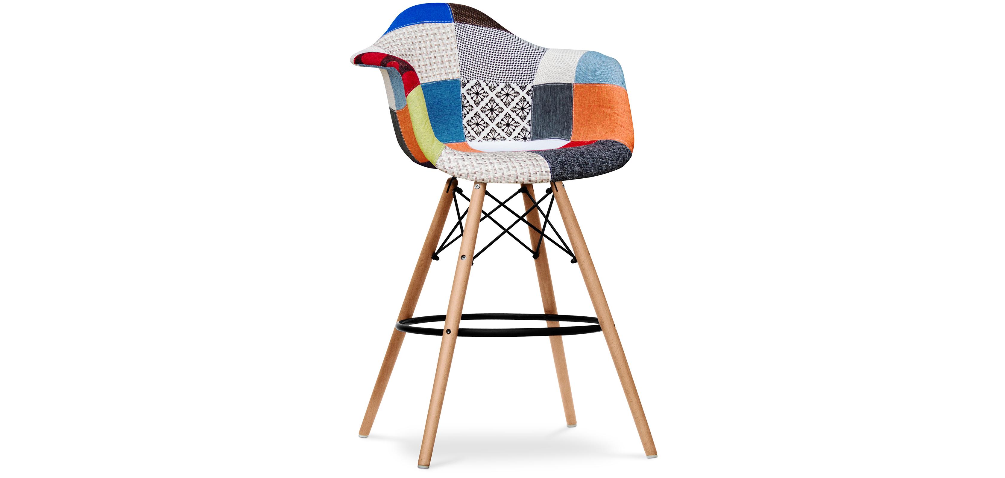 tabouret daw charles eames patchwork. Black Bedroom Furniture Sets. Home Design Ideas