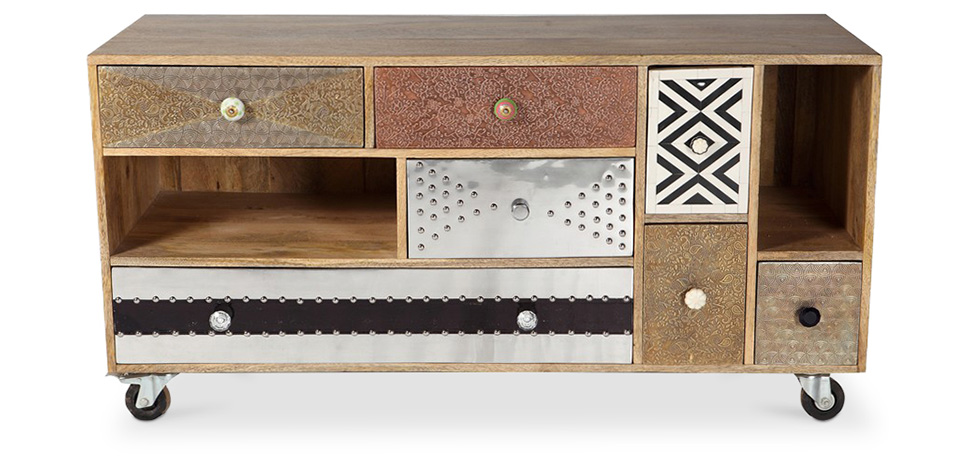 meuble tv de design vintage mady - Meuble Design Vintage